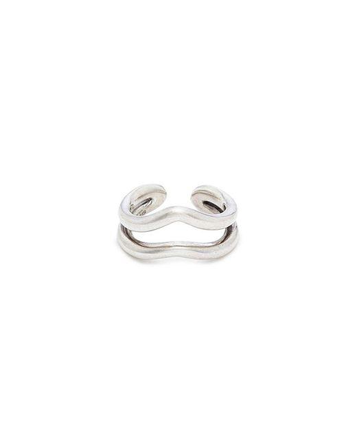 Philippe Audibert - Metallic 'seamus' Cutout Ring for Men - Lyst
