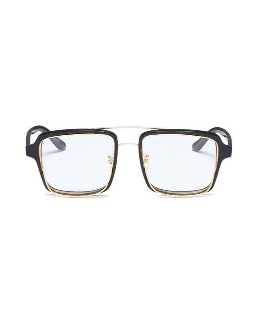 Percy Lau - Black X Jinnnn Double Rim Acetate Square Optical Glasses - Lyst