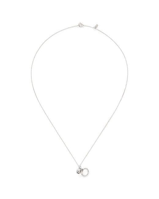 Bao Bao Wan - Diamond Ring White Gold Necklace - Lyst