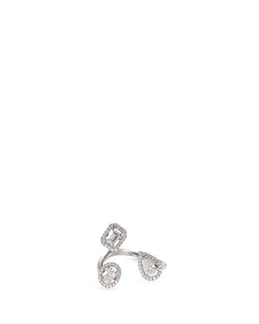 Messika | Metallic 'my Twin' Diamond 18k White Gold Ring | Lyst