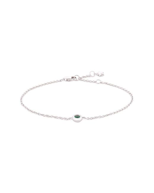 LC COLLECTION - Sapphire 18k White Gold Bracelet for Men - Lyst