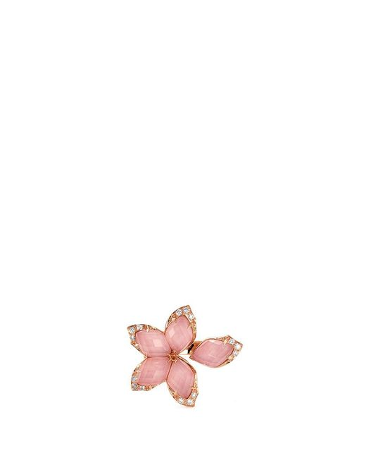 Stephen Webster | Metallic Crystal Haze Diamond 18k Rose Gold Small Ring | Lyst