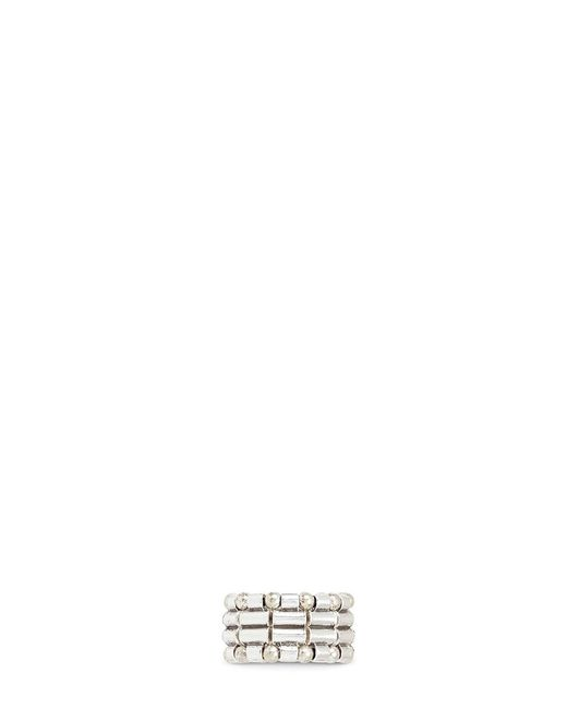Philippe Audibert | Metallic Mixed Bead Elastic Ring | Lyst