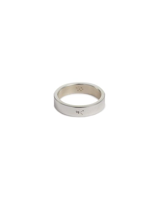 Le Gramme - Metallic 'le 7 Grammes' Polished Sterling Silver Ring for Men - Lyst