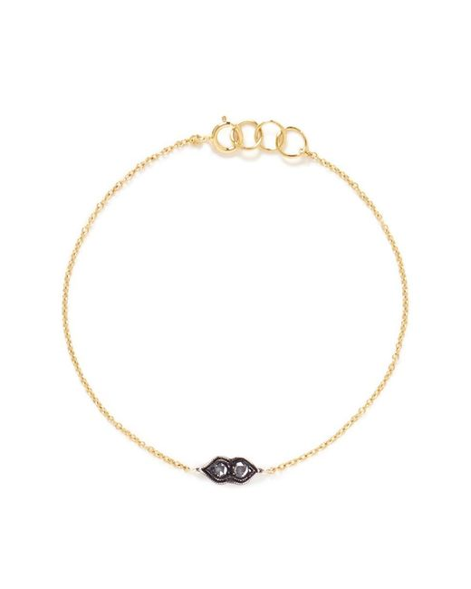 Ila & I - Metallic 'Aries' Diamond Bracelet - Lyst