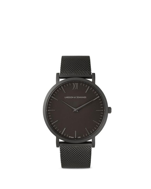 Larsson & Jennings | Black 'lugano 40mm' Watch | Lyst