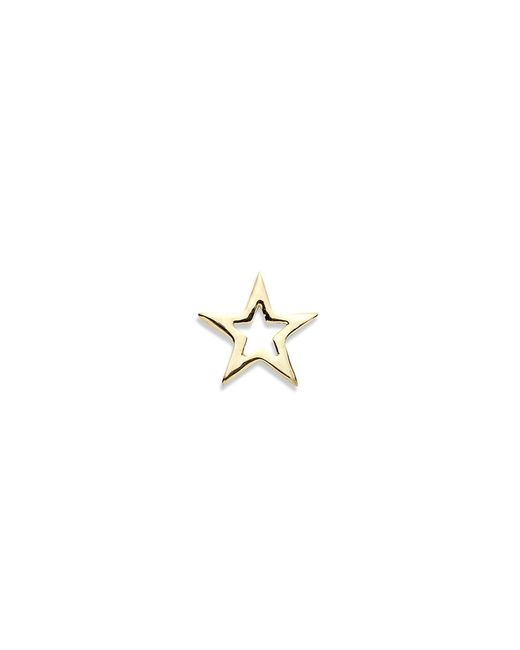 Loquet London | Metallic 18k Yellow Gold Star Charm - You're A Star | Lyst