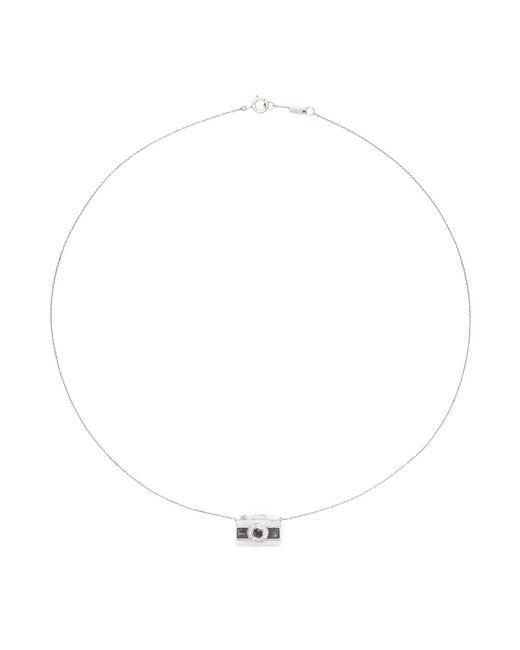 Bao Bao Wan   Metallic 'little Camera' 18k Gold Diamond Moonstone Necklace   Lyst