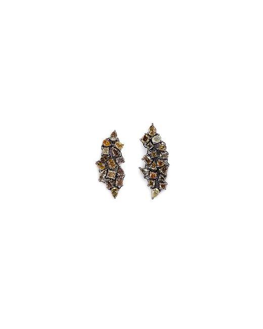 Monique Péan - Metallic 'atelier' Diamond 18k Gold Earrings - Lyst