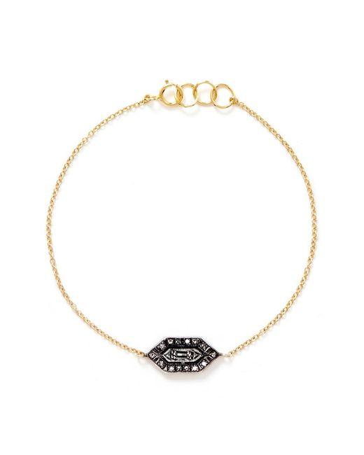 Ila & I - Metallic 'Kayna' Diamond Bracelet - Lyst