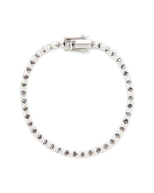 Eddie Borgo | Metallic Mini Pyramid Tennis Bracelet | Lyst