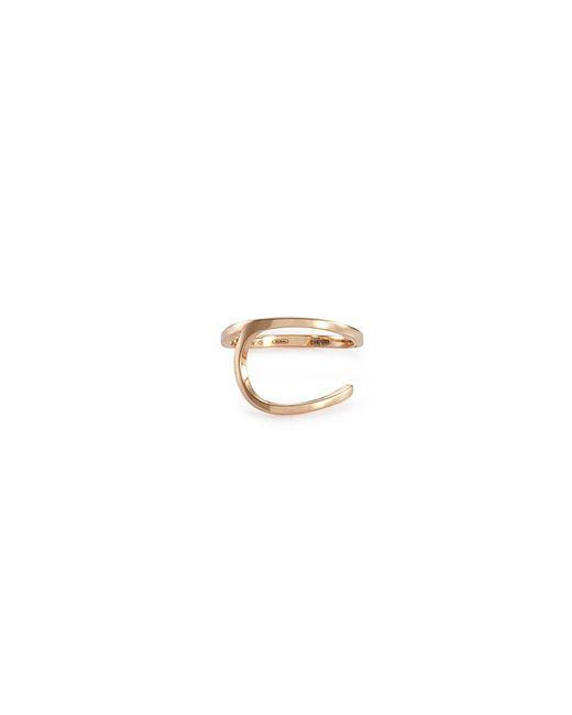 Repossi - Metallic 'la Ligne C' 18k Rose Gold Ring - Lyst