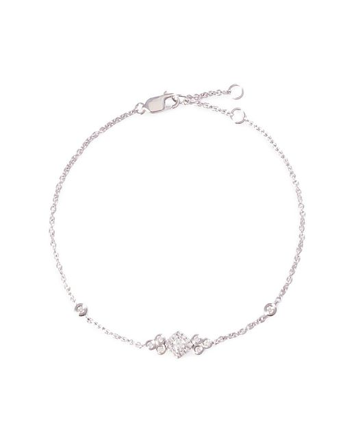 LC COLLECTION - Metallic Diamond 18k White Gold Bracelet - Lyst