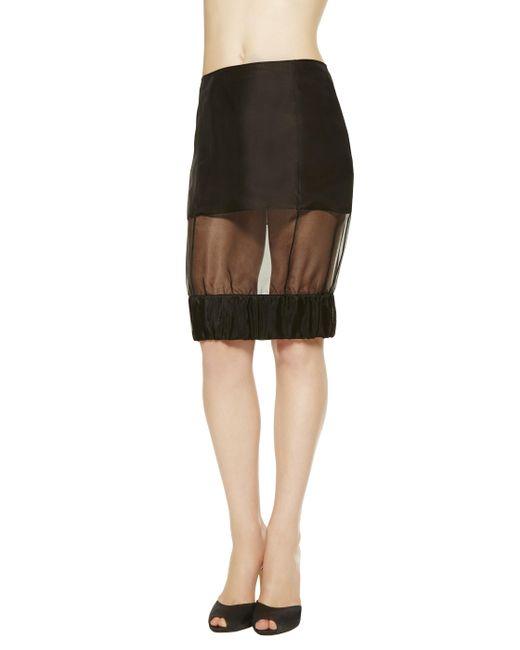 La Perla | Black Skirt | Lyst