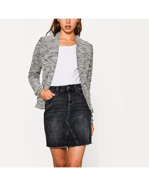 Esprit | Black Straight Cut Jacket | Lyst