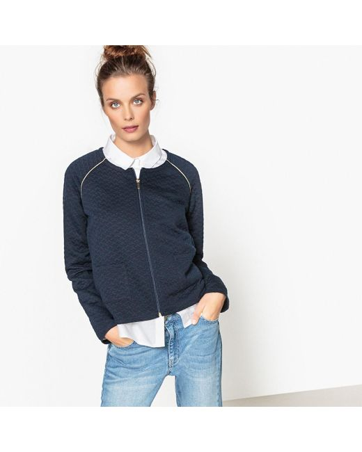 LA REDOUTE | Blue Quilted Jacket | Lyst