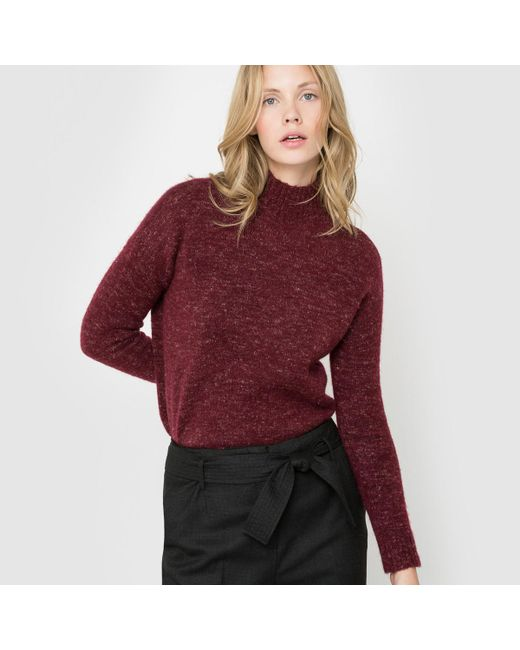 LA REDOUTE | Red Long-sleeved Jumper/sweater | Lyst