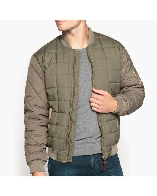 Pepe Jeans | Green Short Mid-season Cotton Bomber Jacket for Men | Lyst