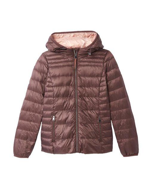 Esprit - Blue Short Lightweight Hooded Padded Jacket - Lyst