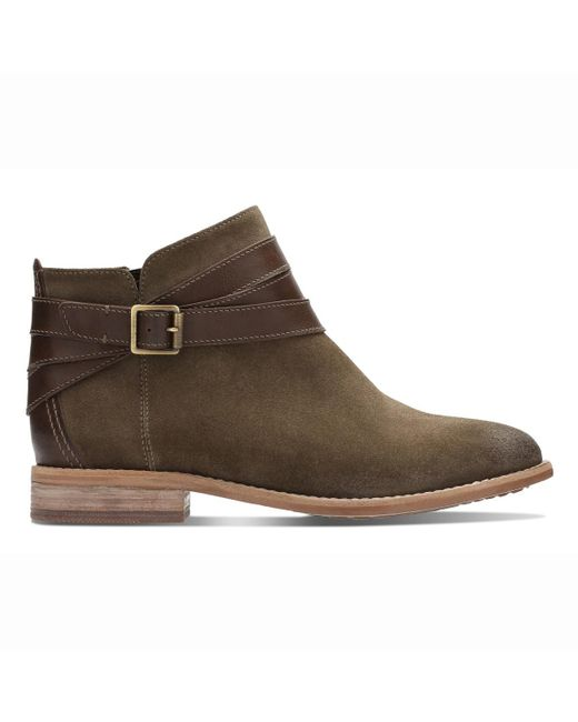 Clarks - Multicolor Maypearl Edie Leather Ankle Boots - Lyst