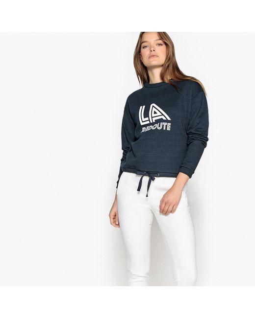 LA REDOUTE   Blue La Redoute Vintage Logo Sweatshirt   Lyst