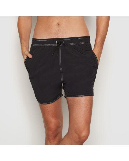 LA REDOUTE | Black Boxer-style Swim Shorts for Men | Lyst