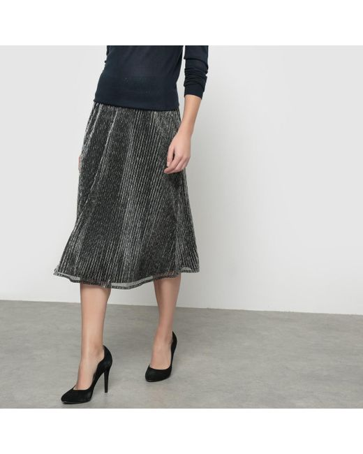 Ichi | Multicolor Kamelo Lurex Skirt | Lyst