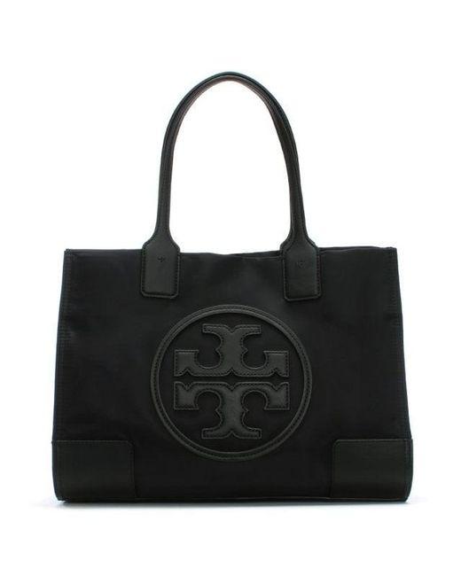 Tory Burch - Ella Black Nylon Mini Tote Bag - Lyst