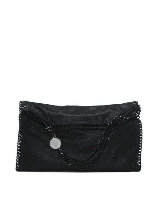 Stella Mccartney Falabella Three Chain Black Tote Bag in Black - Lyst f8dd33e880