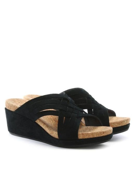 UGG® Lilah Suede Wedge Sandals 5eFZ9