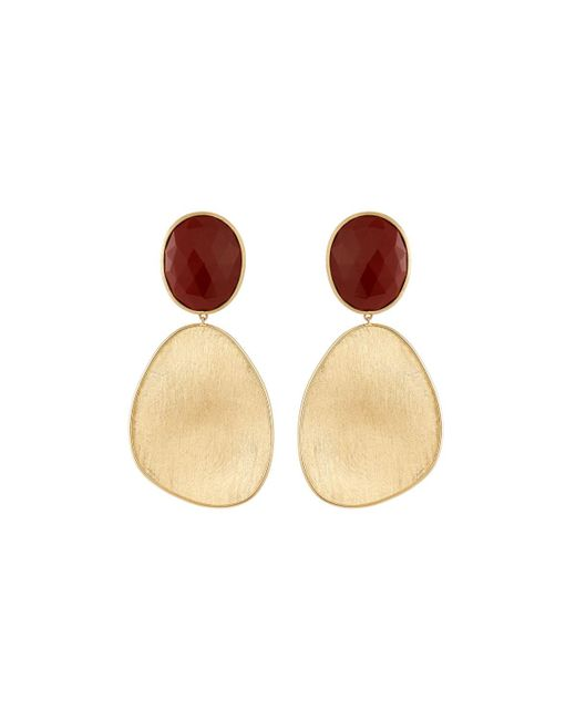 Marco Bicego - Lunaria 18k Red Jasper Drop Earrings - Lyst