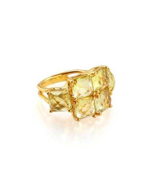 Ippolita - Metallic 18k Rock Candy® Square Six-stone Ring - Lyst