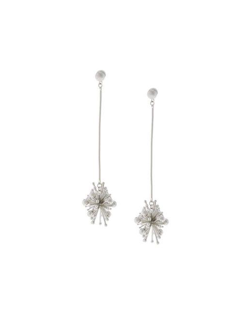 Lydell NYC | Metallic Burst Drop Earrings | Lyst