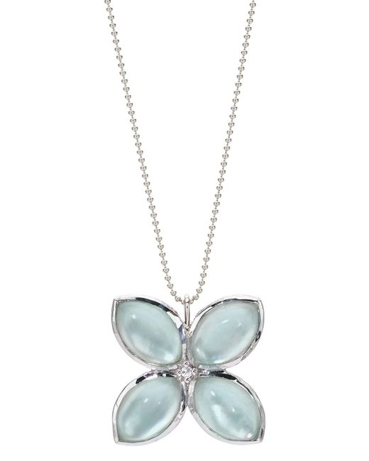Elizabeth Showers - Metallic Quad Marquis Pendant Necklace - Lyst