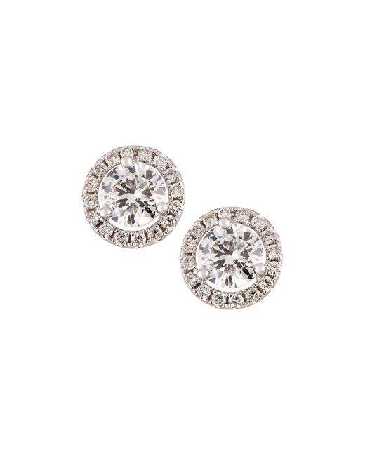 Neiman Marcus - 18k White Gold Diamond Stud Earrings 2.40tcw - Lyst