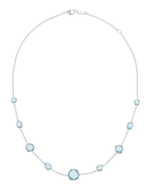 Ippolita - Rock Candy Gelato Short Station Necklace In Blue Topaz - Lyst