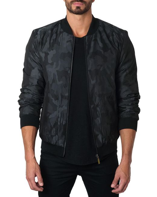 Jared Lang - Black New York 1a Reversible Bomber Jacket for Men - Lyst