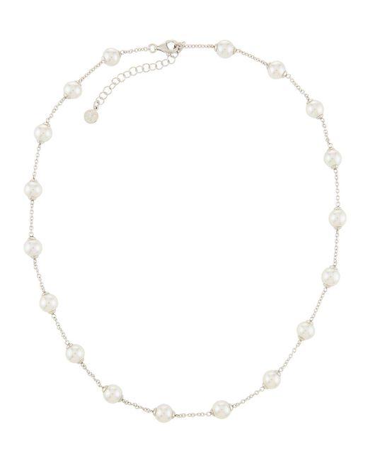 Majorica - Multicolor Multi-pearl Chain Necklace - Lyst