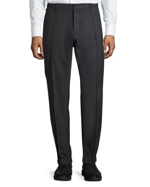 Armani | Gray Techno Stretch Jogger Trousers for Men | Lyst