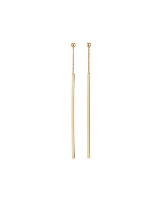 Kenneth Jay Lane | Metallic Long Stick Drop Earrings | Lyst