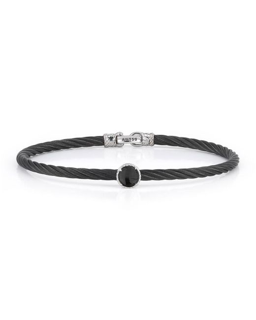 Alor | Multicolor Stainless Steel & Onyx Cable Bracelet | Lyst