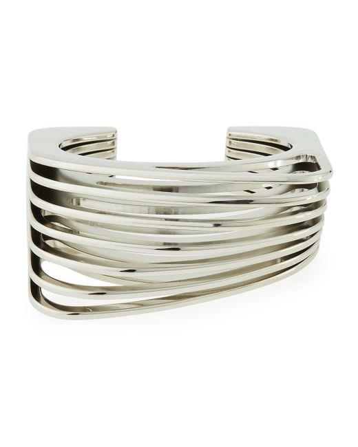 Vita Fede   Metallic Futturo Segmented Small Silver Cuff Bracelet   Lyst