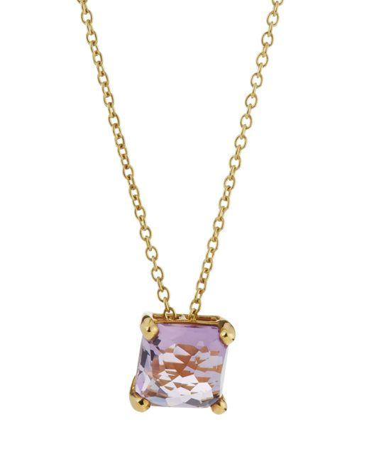 Ippolita | Metallic 18k Rock Candy Mini Single Square Sliding Amethyst Pendant Necklace | Lyst