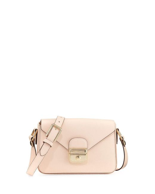 Longchamp | Natural Le Pliage Heritage Small Crossbody Bag | Lyst