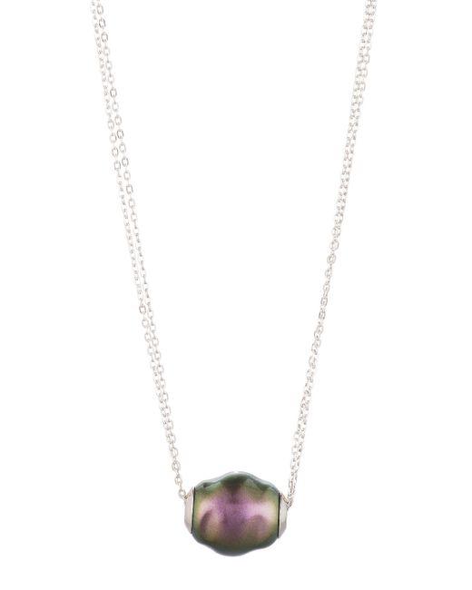 Majorica | White Baroque Tahitian Pearl Pendant Necklace | Lyst