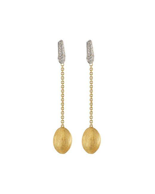 Marco Bicego   Metallic Confetti 18k Diamond Drop Earrings   Lyst