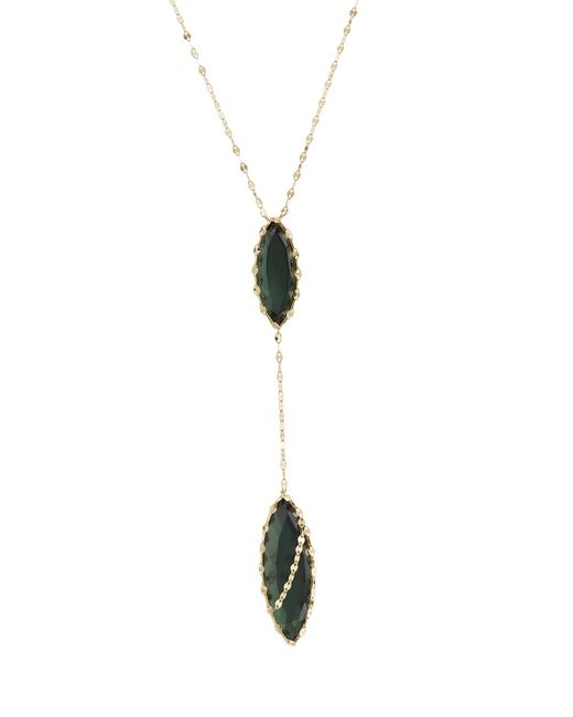 Lana Jewelry | Green Midnight Marquise Lariat Necklace | Lyst