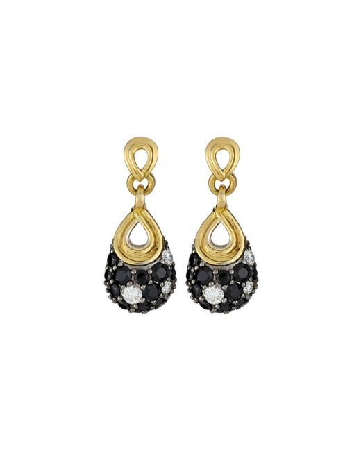 Lagos | Nightfall Black Spinel Earrings | Lyst