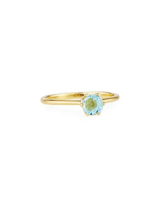 Ippolita | Rock Candy® 18k Mini Blue Topaz Solitaire Ring | Lyst
