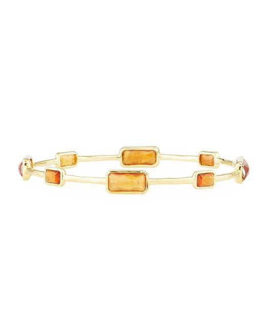 Ippolita   Yellow 18k Rock Candy® Gelato Bangle In Hessonite Garnet   Lyst
